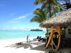 The Beach Hut by Muri Lagoon, Rarotonga