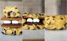 Cookie smore....i feel like @Lauren Huntley should make these for her most faaaaavortie store ever :D lol