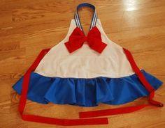 Sailor Moon apron <3 I WANT THISSSSSSSSSSSSSSSSSSSSSSSS!!!!!!!!!!!!!!!!!!!!!!!!!!!!!!!!!!!