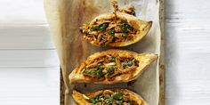 It's aBOAT time you tried these Sweet Potato Boats!