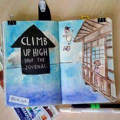 "403 Synes godt om, 6 kommentarer – Victoria Bykova (@vik_byk) på Instagram: ""Задание: залезь повыше, сбрось блокнот / climb up high, drop the journal Блокнот действительно…"""