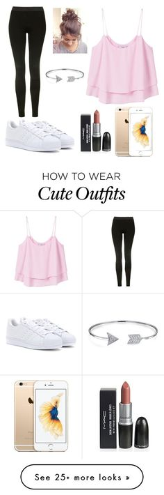 """""""Festival Outfit"""" by mc1307 on Polyvore featuring MANGO, Topshop, adidas and Bling Jewelry"""