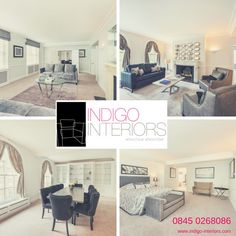 Indigo Interiors can help you with your #investmentproperty #DressToLet #DressToSell #ServicedApartments #Curtains #Blinds #Furniture #FamilyRunBusiness