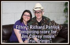 "Filter's Richard Patrick composing score for Jim Carrey movie ""True Crimes"" - The Gracie Note Jim Carrey Movies, True Crime, What Is Like, Scores, Filters, Content, Note, Film, Music"