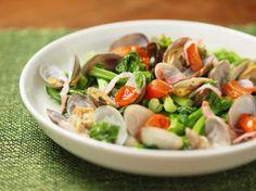 あさりと菜の花の白ワイン蒸し 魚料理と簡単レシピ