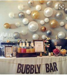 Bubbly Bar, Mimosa Bar, Fiesta Shower, Shower Party, Shower Games, Fiesta Party, Before Wedding, Wedding Day, Cozy Wedding