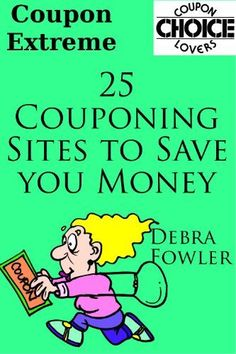 Coupon Extreme (25 Couponing Sites that Save You Money) - #coupon, #couponing, #money, Extreme, save, sites