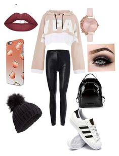 """Untitled #15"" by mara-calinescu on Polyvore featuring Ivy Park, adidas, Kendall + Kylie, Olivia Burton, ASAP and Miss Selfridge"