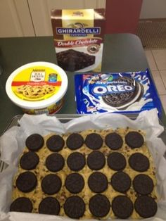 Katherine in the Kitchen: Quick, Easy, Healthy Recipes: Oreo Cookie Dough Brownies