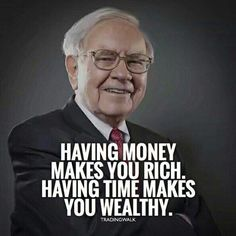Trading Quotes Wealth is spending your days the way you choose, rather than working to earn more money or worrying about how much you have already. Having time in this way, means satisfaction the ability to live the kind of life that makes you happy. Work Quotes, Wisdom Quotes, Success Quotes, Great Quotes, Life Quotes, Quotes Quotes, Change Quotes, Attitude Quotes, Citations Business