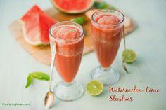 Nourishing Meals: Watermelon-Lime Slushies (sugar-free)
