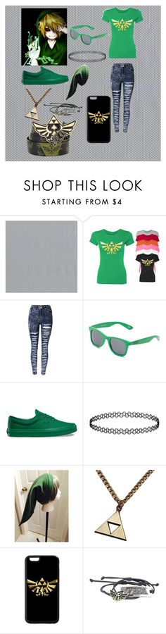 """""""Day 1 Ben Drowned"""" by emo-oreo-cookie ❤ liked on Polyvore featuring Astek and Vans"""