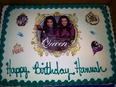 Disney Descendants Birthday Cake Birthday Parties