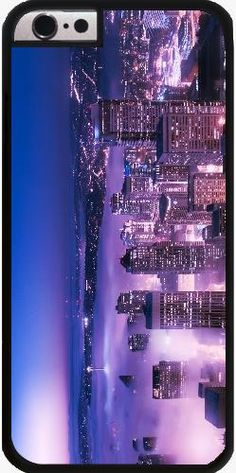 Case for Iphone 6/6S - Purple Seattle Panorama - by Christine aka stine1