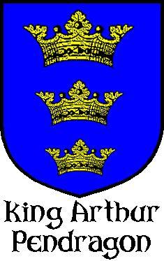 Arthurienne h raldique recueillies boucliers chevaliers - Blason chevalier table ronde ...