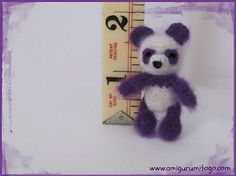 Ravelry: Miniature Purple Panda Thread Pattern pattern by Sharon Ojala