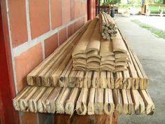 Bamboo plank