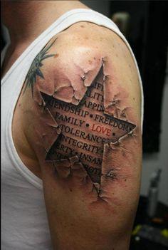 What an awesome tattoo... #skintear #madskills #yesplease