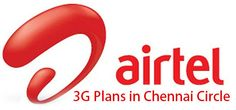 Airtel 3G Plans in Chennai for Prepaid users in 2013