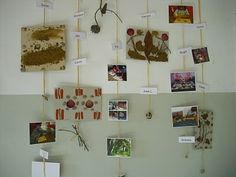 With fun photos, dried flowers, quotes, ticket stubs, it'd make an amazing wall decoration for super cheap!