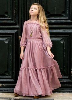 dresses kids girl Jeune Fille Clothing Dresses Page 7 Joyfolie Girls Maxi Dresses, Little Girl Dresses, Casual Dresses, Fashion Dresses, Wedding Dresses, Work Dresses, Elegant Dresses, Sexy Dresses, Party Dresses