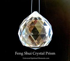 Feng Shui Lead Crystal Prism by BenitoArvizo on Etsy, $21.99