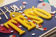 scrapbook, mini album, sisters, birthday gift, ScrapFellow, #SFkitklubfebruary, #szinspiraciofebruar