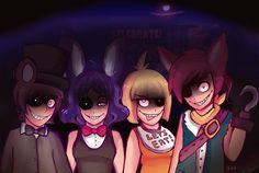 DeviantArt: More Like 5 Nights at Freddy's by MidnightCoffeeRun