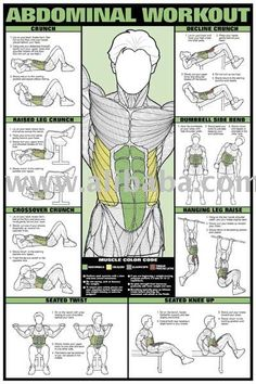 Great ab work outs - Find 65+ Top Online Activewear Stores via http://AmericasMall.com/categories/activewear.html
