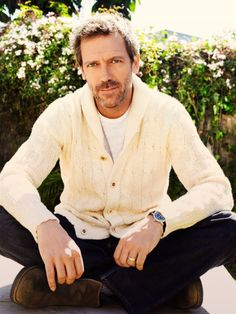 Hugh Laurie is a pretty dapper gentleman... Love him , love his attitude the hole nine yards .  Awesome Personality !