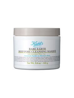 Khiels Rare Earth Deep Pore Cleansing Mask / recommended by Ali Collier