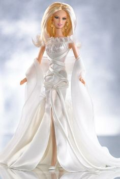 White Chocolate Barbie Would love to have this Barbie!!!!