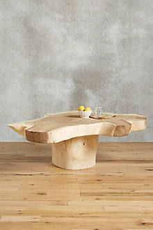 Live-Edge Coffee Table $798.00  Dimensions 17.75''H, 59''W, 31.5''D