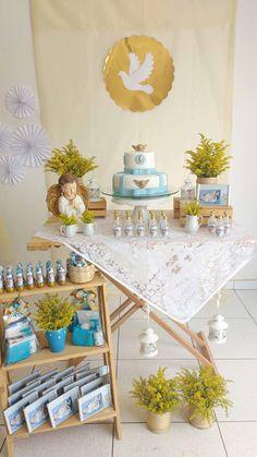 Café da manhã de Batismo   Papo de Festa
