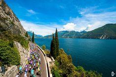 95th Giro d'Italia 2012 - Lake Garda