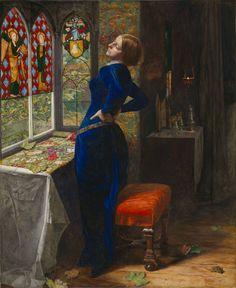 'Mariana', Sir John Everett Millais, Bt, 1851 | Tate