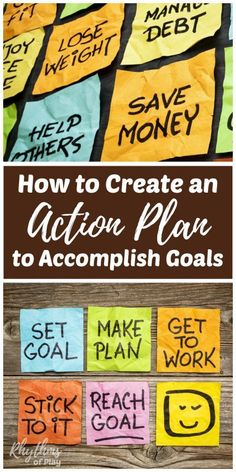 This article contains tips and activities for adults to learn how to make an action plan to accomplish personal, business, and fitness goals. Setting goals, creating an action plan, and sticking to it is a surefire way to attain your goals and live the li Achieving Goals Quote, Achieve Your Goals, Casino Royale, Way Of Life, The Life, The Plan, How To Plan, Goal Setting Worksheet, Goal Quotes