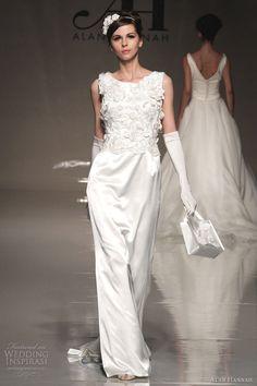Alan Hannah Wedding Dresses 2013 — Classic Beauty Bridal Collection   Wedding Inspirasi