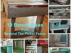 10 Bench Ideas