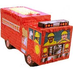 Firetruck Pinata