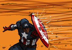 Captain America - German Peralta