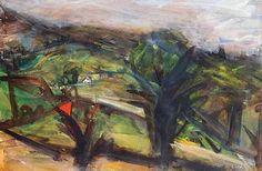 Peter Prendergast  Evening Tree, 2000