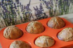 Simply fluffy apple muffins