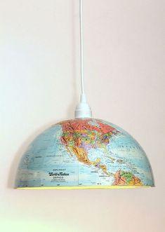 DIY Globe Pendant