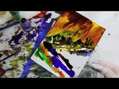 Alcohol Inks And Acrylic Glazing Liquid DVD 5 Preview Clip - YouTube by June Rollins