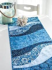 Quilt - EZ Breezy Quilt As You Go Table Runner & Place Mat Pattern - #429159