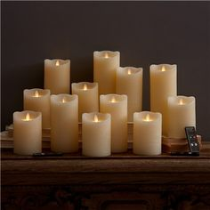 Dazzler Remote Flameless Candle Set of 15 #laylagrayce