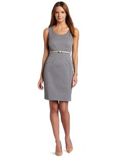 Calvin Klein Polka Dot Dress. Could mix and match this for a lot of looks.