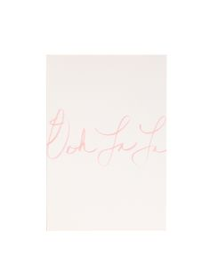 Ooh La La! Say it with a card, luxurious hand lettered from Aquarelle Maison.
