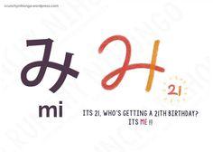 Easy Hiragana Mastery Guide: Part 1 'み'
